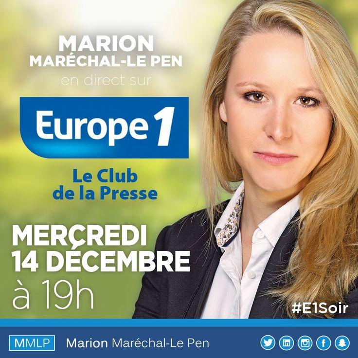 (2) Marion Le Pen (@Marion_M_Le_Pen) | Twitter