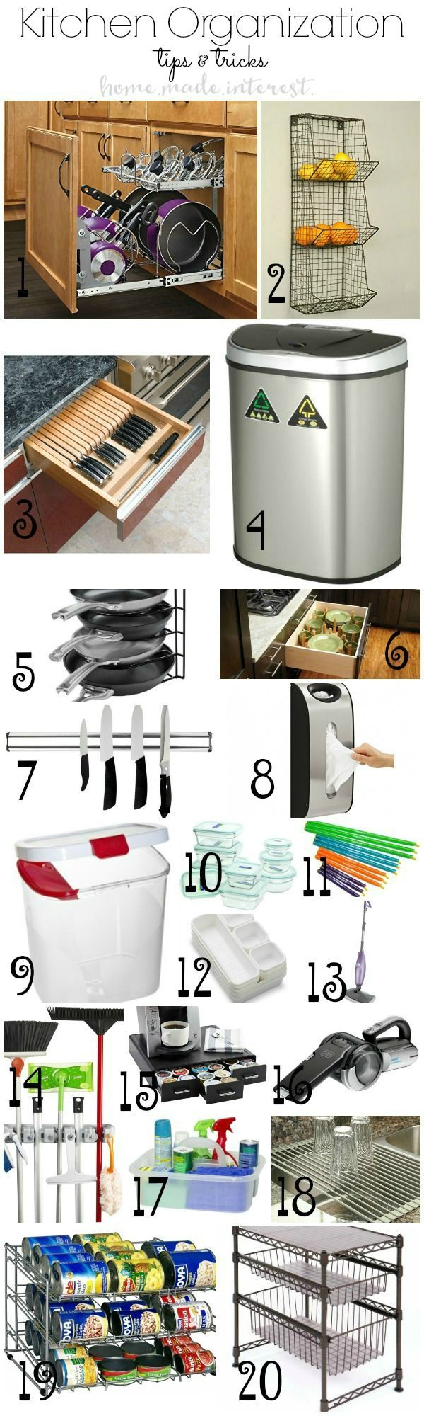 371 best Home   Organization images on Pinterest   Organizing tips ...