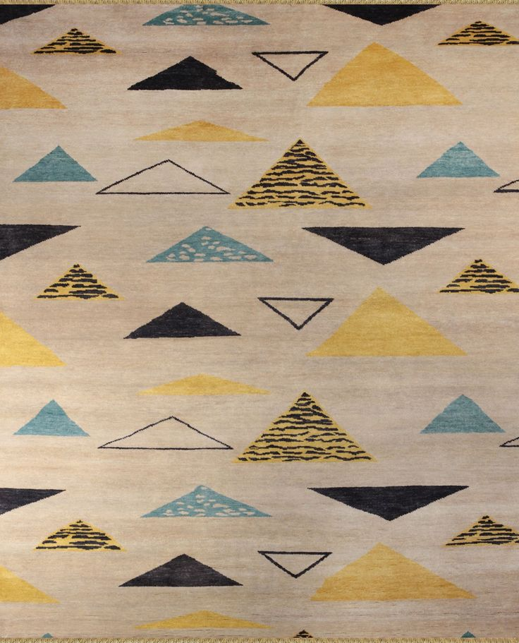 Hali Rugs-Jude- a 50s and 60s style. Price $4250.00