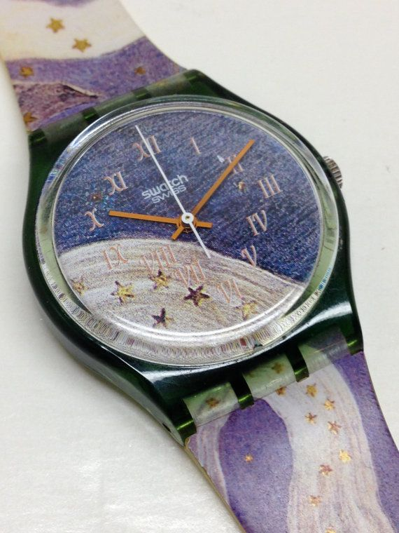 Vintage Swatch Watch Voie Lactée GG122 1993 by ThatIsSoFunny
