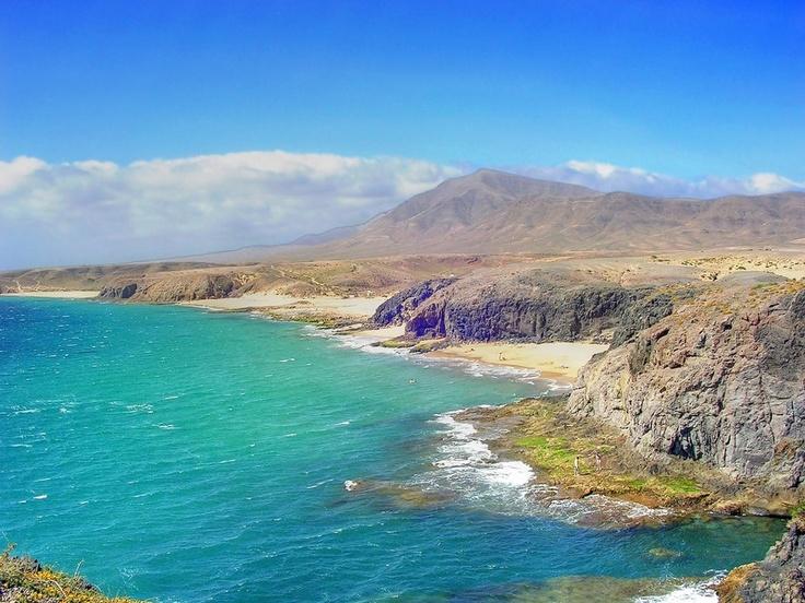 Playa de papagayo lanzarote papagayo es uno de los for En zacatecas hay playa