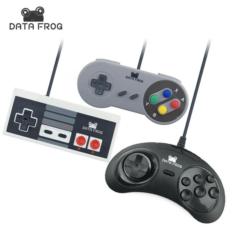 Set of USB game controllers for PC