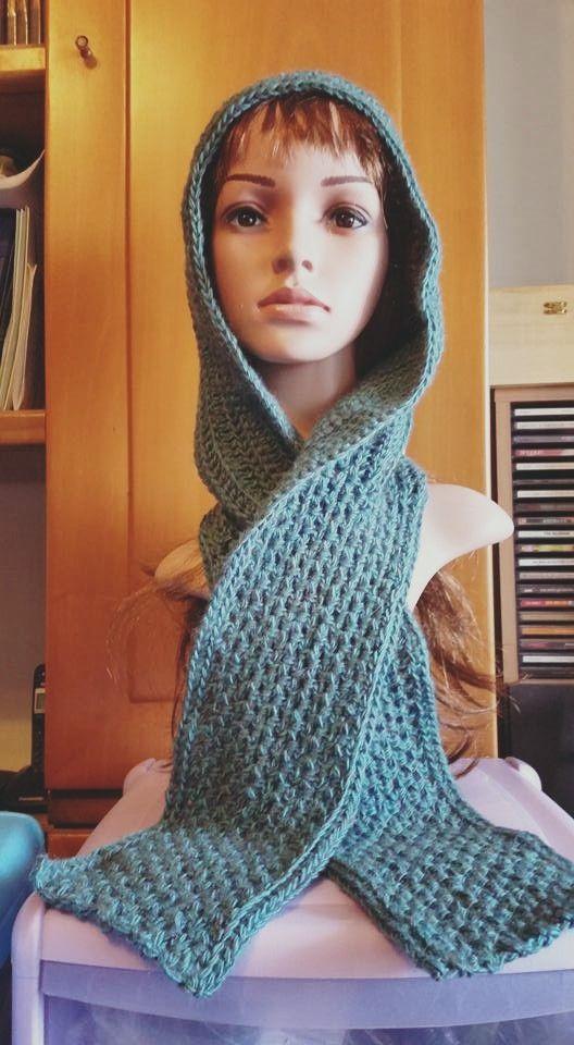 Il filo di Arianna maglia e uncinetto : LE CREAZIONI DELLE NOSTRE CLIENTI: Sciarpa e cappu...