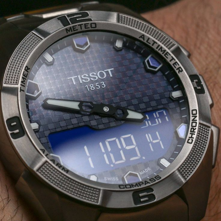 "Tissot T-Touch Expert Solar Watch Review - by Ariel Adams - see hands-on video, photo gallery, and read more on aBlogtoWatch.com ""Welcome to the light-powered T-Touch, with the newer Tissot T-Touch Expert Solar. I've had a love affair with the Tissot T-Touch for well over a decade now (it originally came out back in 1999). Very few modern watches have remained as cool for as long. The T-Touch is easily the most popular type of Tissot you'll see on people's wrists..."""