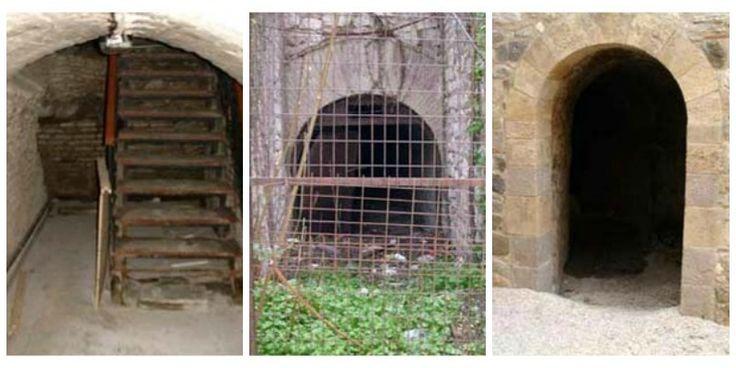 ΦΩΤΟ - Στα... υπόγεια της Πάτρας – Τα καταφύγια και οι μυστικές στοές της