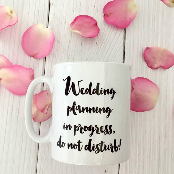 Perfect for sitting down with a cuppa and getting that wedding sorted!