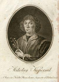 Portret Mikołaja Kopernika z konwalią - Ligber, Jan (zm. przed 23 VII 1814)