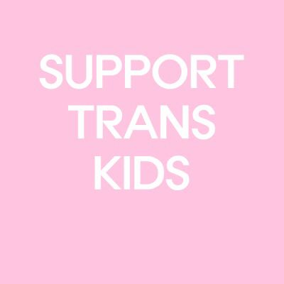 it would seem to me, that all transgender folks carry a heavy burden already, so how dare we offer anything but support?