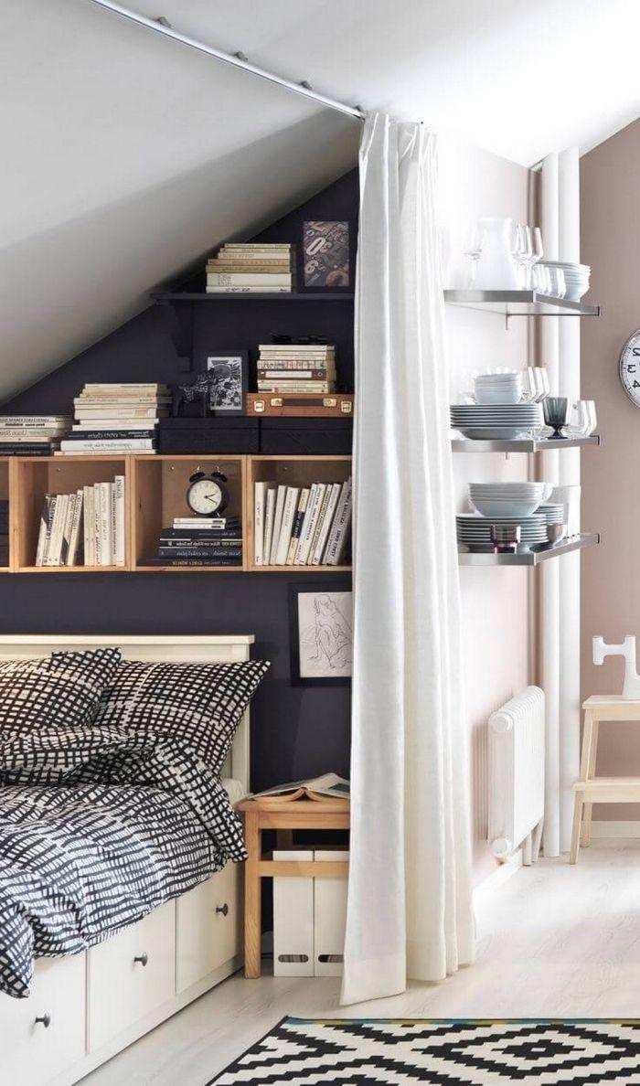1001 Solutions Ingenieuses D Amenagement Sous Pente Decoration Petit Appartement Mobilier De Salon Et Meuble Sous Pente