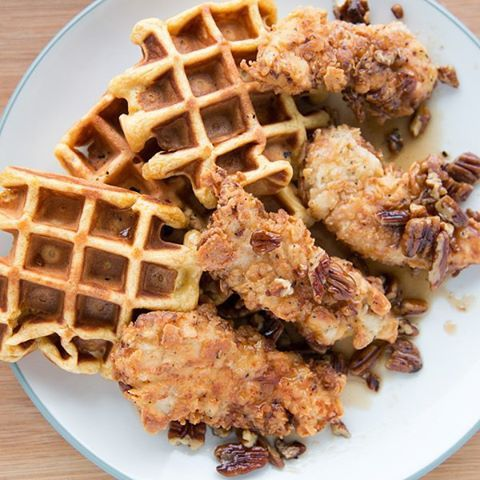Buttermilk Fried Chicken. Kick it up a notch with sweet potato waffles ...