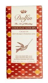 Dolfin 30g Voyage. Ciocolata neagra 88% cacao Rep. Dominicana