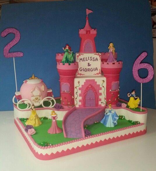 Torta castello principesse cake