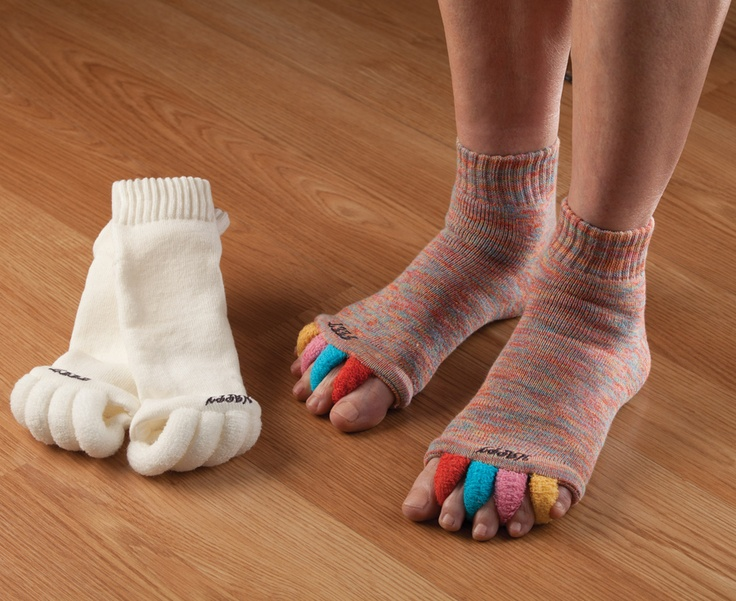 My Happy Feet Socks  Think of them as antidotes to high heels or sport strain. $20