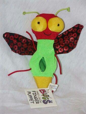 Fly Puppet Baby Einstein Toy Chest Baby Vans Finger
