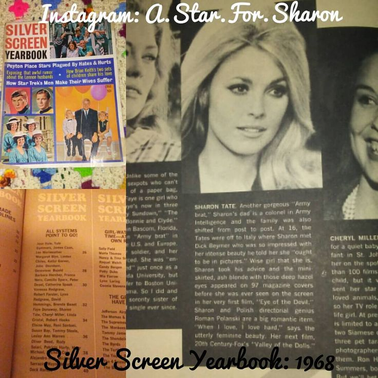 Sharon in the 1968 Silver Screen Yearbook Magazine! I should be getting 3 more Magazines and the Walter Chappell book in the mail anytime now! #SharonTate #SharonMarieTate #SharonPolanski #model #actress #naturalbeauty #beautyqueen #foreveryoung #queen #themostbeautiful #sixties #60s #1960s #old #vintage #blackandwhite #oldhollywood #hollywood #SilverScreenYearbook #SilverScreenYearbookmagazine #vintagemagazine #memorabilia #OdileDeCaray