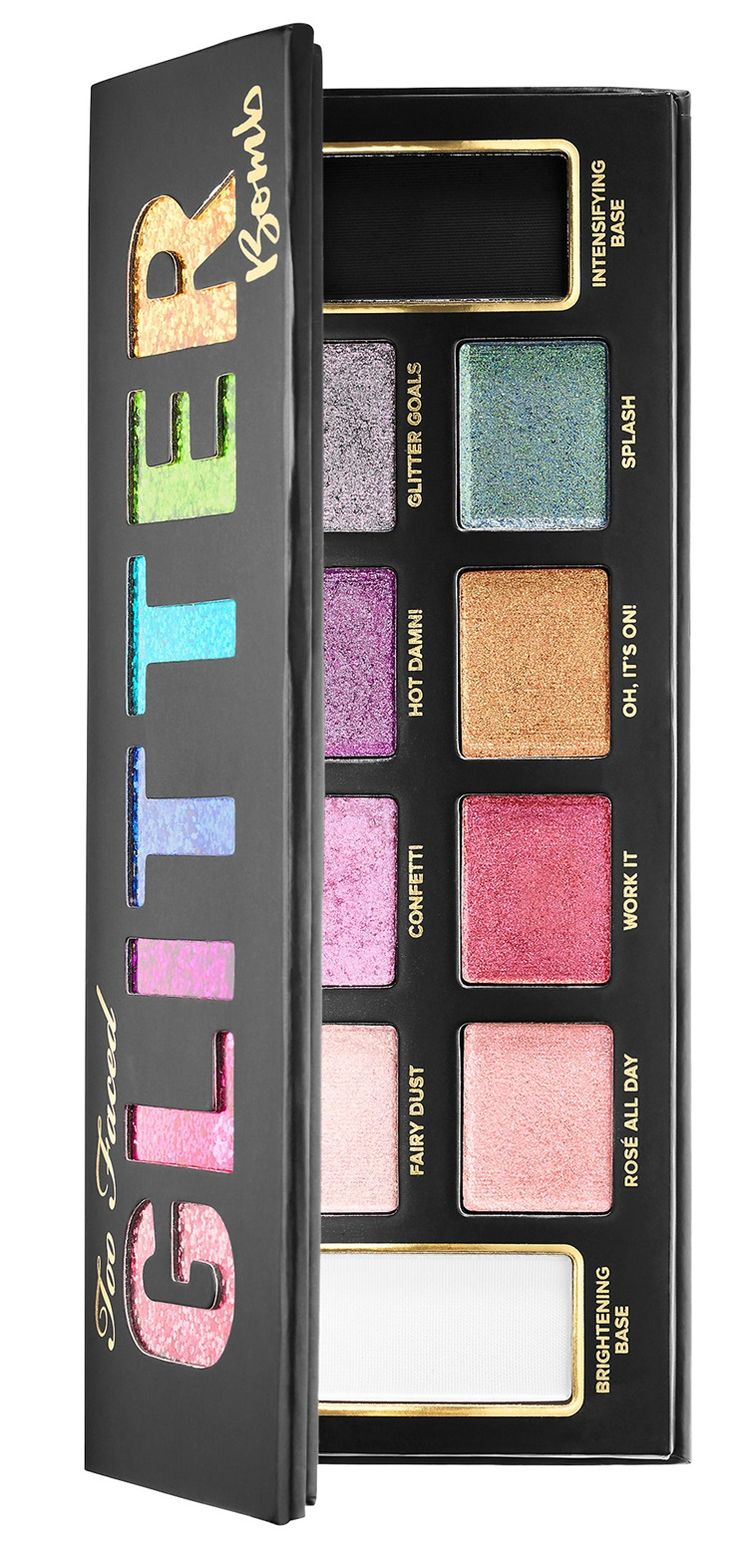 Too Faced Glitter Bomb Eyeshadow Palette Now Available – Musings of a Muse