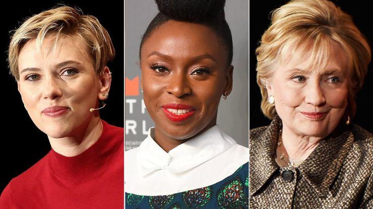 Women in the World: Hillary Clinton, Scarlett Johansson - Motto http://www.contacthillaryclinton.com/