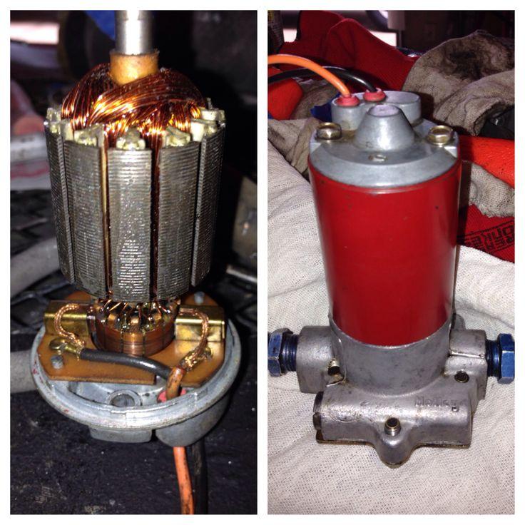Servicing Holley fuel pump