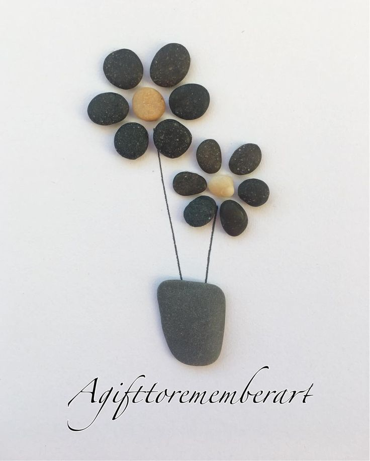 Black flowers! #agifttorememberart #pebbleart #art #etsy #etsyshop #makersgonnamake #madebyme #australia #craft #roomdecor #frame #giftshop #giftideas #lovewhatyoudo #stones #flowers #vase #beach #interiordesign #instaart #instagood #instaphoto #nature