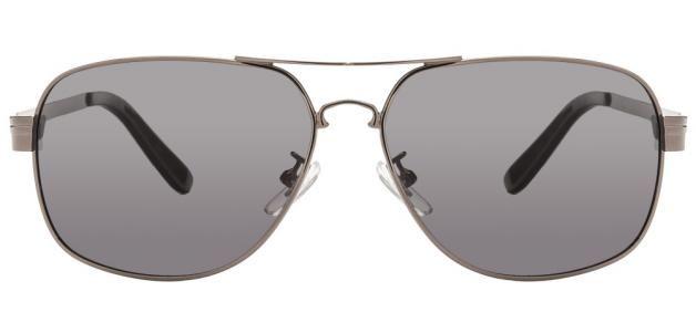 Vincent Chase VC 5123 Gunmetal Grey 5050 Aviator Men's Polarized Sunglasses