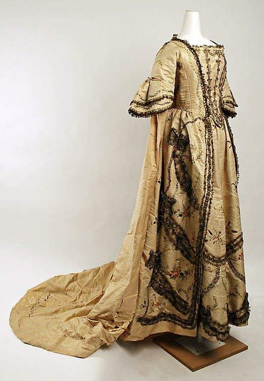 Dress Date: 18th century Culture: French Medium: silk