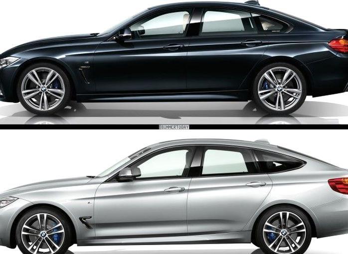 Bmw 4 Series Gran Coupe Vs Bmw 3 Series Gt Photo Comparison In 2020 Bmw 3 Series Gt Bmw 4 Series Gran Coupe