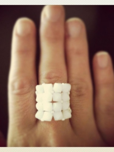 White Mocha - Jewelry - Expression Rings of Hope - Hybrid Her Trunk Show