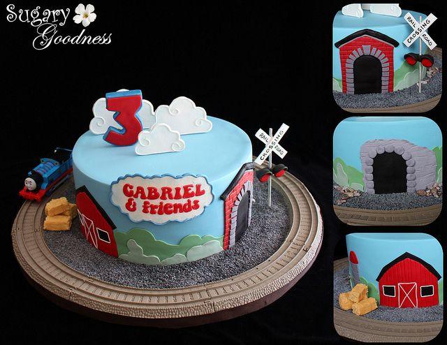 46 Best Thomas The Train Cakecupcake Ideas Images On Pinterest