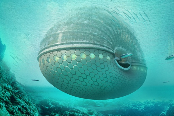 Thumbnail image for The Ark — A Gigantic Floating Biosphere That Provides Protection in Case of Disaster