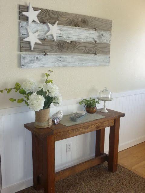 Schönes Bild ganz einfach selbstgemacht. #Holz #Bretter #Kunst #Sterne #DIY