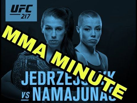 MMA UFC 217: Joanna Jedrzejczyk vs Rose Namajunas in New York
