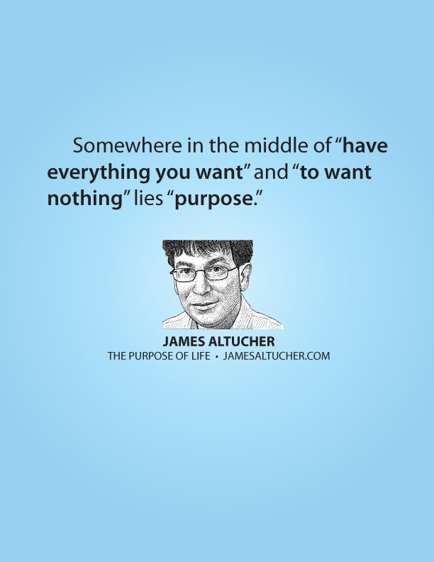 The purpose of life. Nobody says it like James Altucher. What a gift he possesses.
