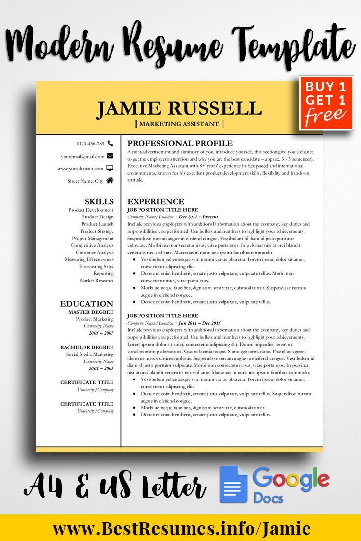 Resume Template Jamie Russell | Pinterest | Rn resume, Teacher ...