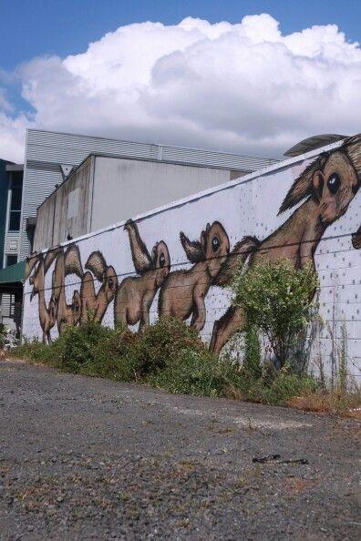 #streetart #rdpnz Mt Eden, Auckland, New Zealand - December 2015