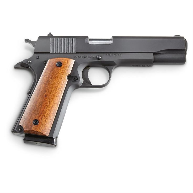 Rock Island Armory 1911 GI Standard FS, Semi-automatic, .45 ACP, 8 Rounds - 658088, Semi-Automatic at Sportsman's Guide