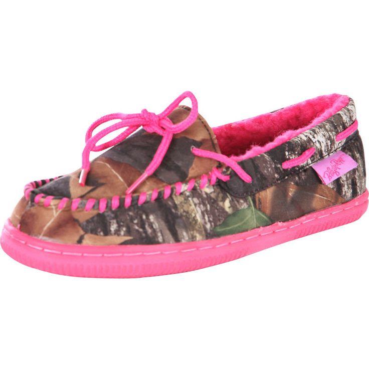 Blazin Roxx Pink Mossy Oak Women's House Shoes | Camo ...
