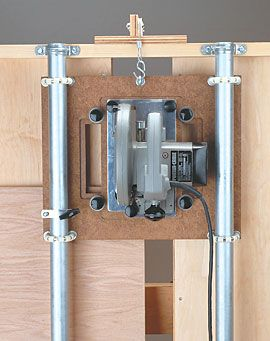 Looking for plans on a vertical panel saw - Woodworking Talk - Woodworkers Forum