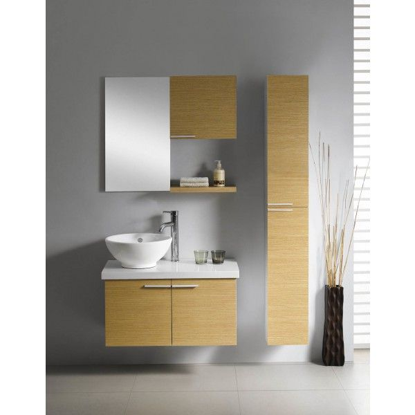 Moderna With Side Storage and Vessel Sink | Best value bathroom furniture in Ireland.  Contemporary wall hung vanity unit with vessel sink, soft close drawers and side cabinet.  Perfect for a medium to large sized bathroom.      Measurements  Description:  Dimension (MM): Main Cabinet760*420*610 Mirror400*20*700 Small Side Cabinet   400*150*380 Big Side Cabinet250*250*1600