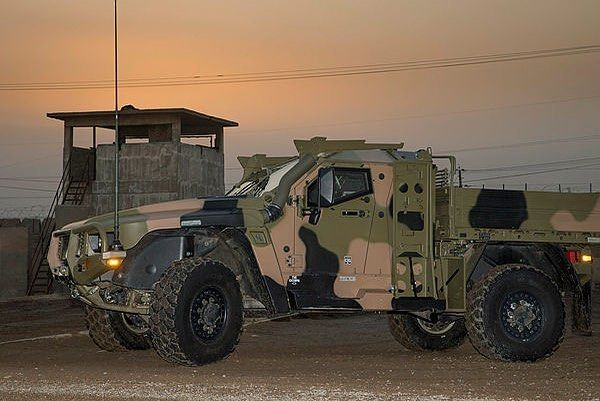 The Hawkei Protected Mobility Vehicle – Light, in two- and four-door variants were photographed recently at the Taji Military Complex, Iraq. Hawkei PMV-L was sent to the Middle East late last year then forwarded to Taji Military Complex in Iraq , ready to trial in an operational environment as part of the Capability Acquisition and Sustainment Group's Land 121 project. The trials will be conducted by Task Group Taji, a component of the Australian Defence Force's Operation Okra. Task Group…