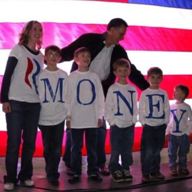 Romney and the Money:  Freud lässt grüßen.