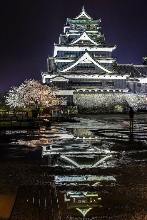 熊本城 熊本県 Kumamoto Castle, Japan 平成28年(AD2016)4月14日夜〜の一連の地震でこの美しい黒の城, 熊本城もかなりの被害が出ました。4つの大陸プレートが鬩ぎ合う火山列島の我国は何処で何があってもおかしくない…小さくても皆が出来る事をして, 助け合って生きましょう…1日でも早く復興なされますように…