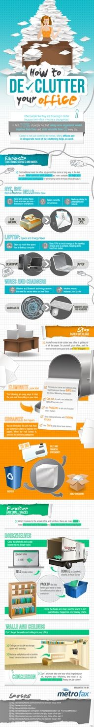 **OMG, I need this, I am drowning in paper clutter!** Declutter Your Office!