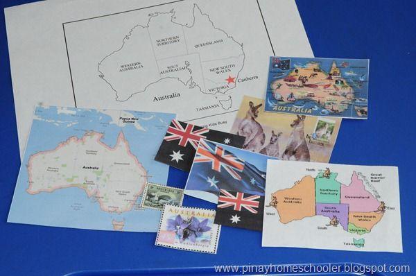 Australia, free australian animals tub printable