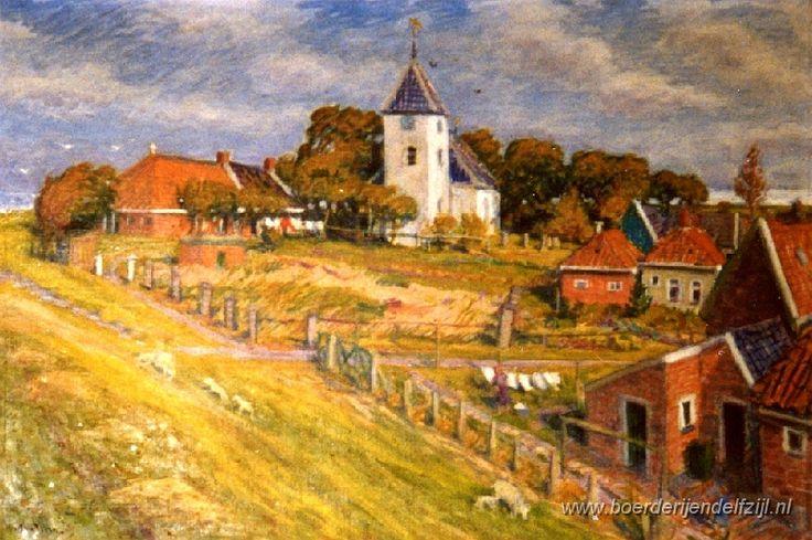Oterdum Johan Dijkstra Ploegschilder.