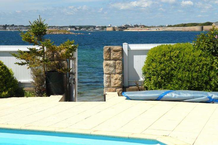 Vente maison pieds dans l 39 eau lorient maison avec - Maison de bord de mer ...