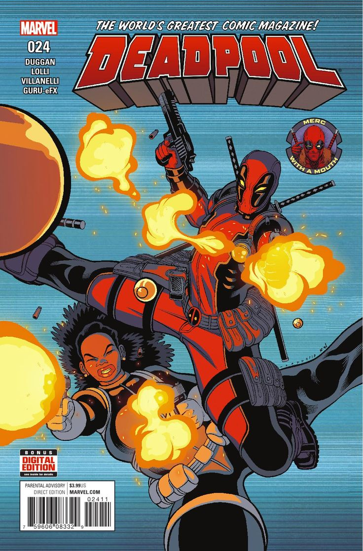 "Preview: Deadpool #24, Story: Gerry Duggan Art: Matteo Lolli Cover: Tradd Moore Publisher: Marvel Publication Date: January 11th, 2017 Price: $3.99     ""PATIEN...,  #All-Comic #All-ComicPreviews #Comics #Deadpool #GerryDuggan #Marvel #MatteoLolli #Previews #previews #TraddMoore"