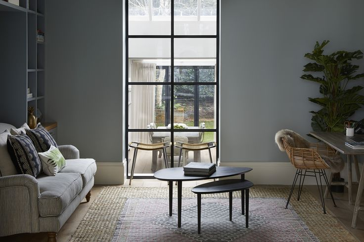 Westbourne Grove Townhouse Library.  Designed by Talia Cobbold http://www.taliacobbold.com/