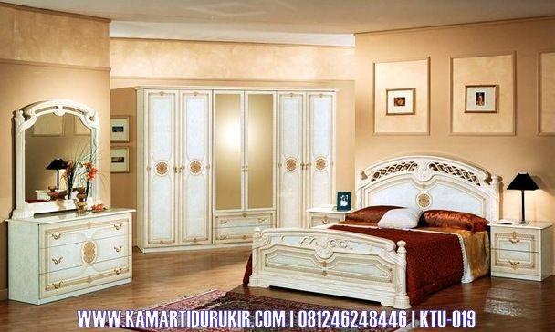 Furniture Kamar Set Mewah Terbaru Elegan Terbaru Minimalis Klasik, Set Kamar Tidur Minimalis Semi Ukir Mewah Elegan, Jual Tempat Tidur Mewah