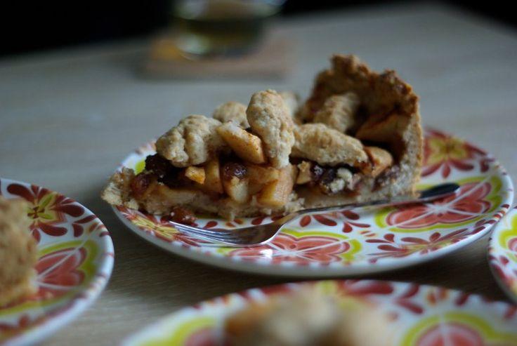 foto's van appeltaarten | ... nl - Vegetarisch recept - Hartige perzik- of appeltaart met koriander