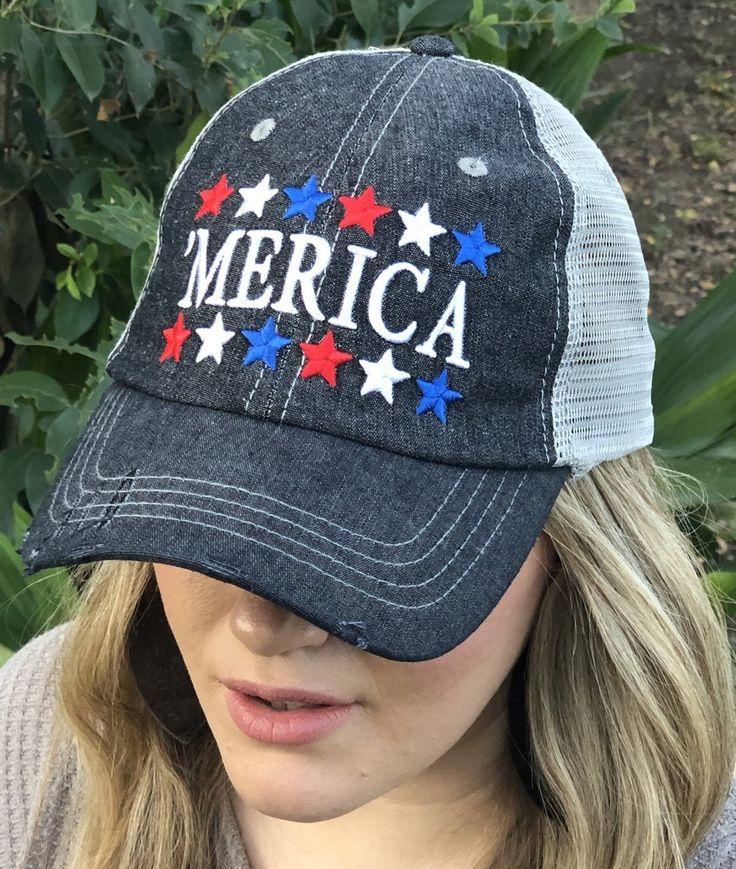 Park Art|My WordPress Blog_American Flag Trucker Hat Green